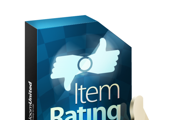 JoomUnited Joomla Extension: Item rating
