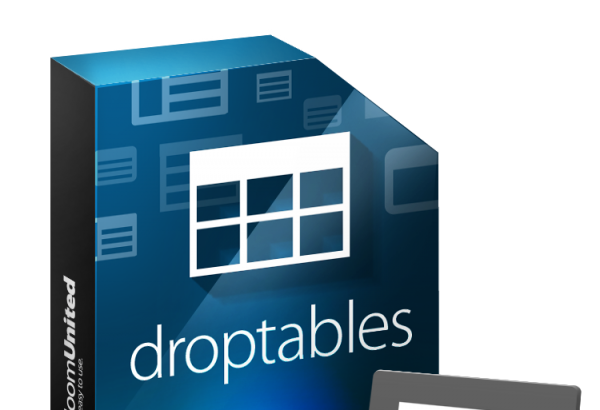 JoomUnited Joomla Extension: Droptables table manager