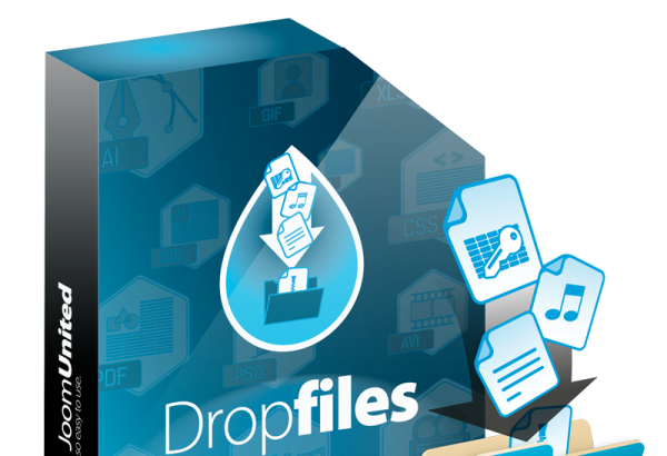 JoomUnited Joomla Extension: Dropfiles file manager