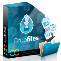 Joomla extension Dropfiles file manager