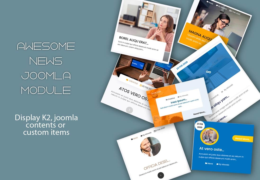cooltemplate Joomla Extension: Awesome news