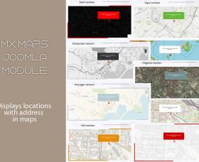 Extensions Joomla: Mx Maps