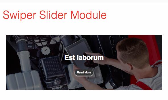 joomla2you Joomla Extension: Swiper Slider