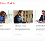 Extensions Joomla: Article slider module