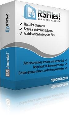 RSJoomla! Joomla Extension: RSFiles! - Joomla!® File and Download Manager