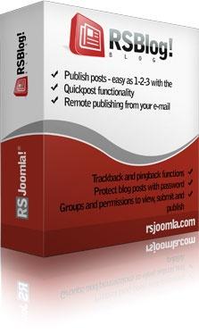 RSJoomla! Joomla Extension: RSBlog! - Joomla!® Blog extension