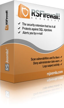 RSJoomla! Joomla Extension: RSFirewall! - Joomla!® Security Extension from RSJoomla!