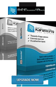 RSJoomla! Joomla Extension: Free Joomla!® Form Builder - RSForm!