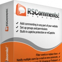 Joomla extension RSComments! - Joomla!® comment system from RSJoomla!