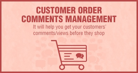 Magento Extension: Customer Order Comment Management