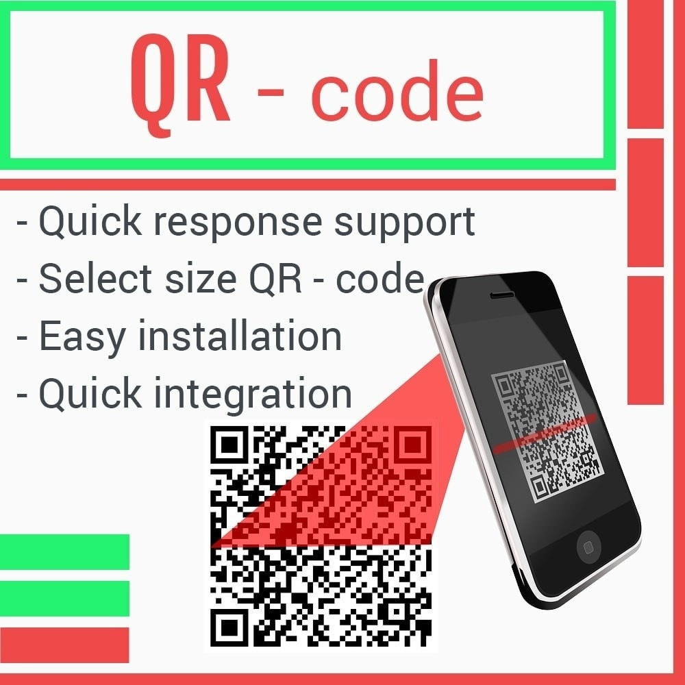 Webtet Prestashop Extension: QR-Code for Prestashop