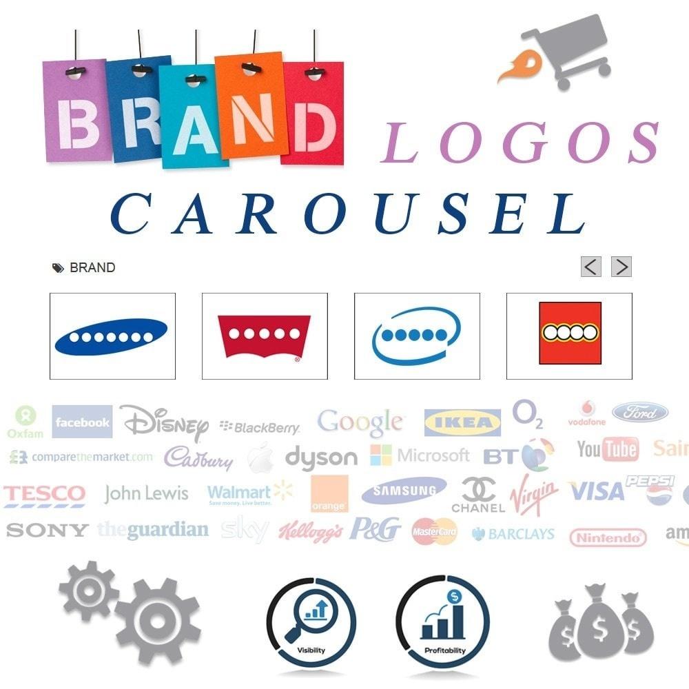 Webtet Prestashop Extension: Responsive Brand Logos Carousel for Prestashop 1.7 / 1.6 / 1.5