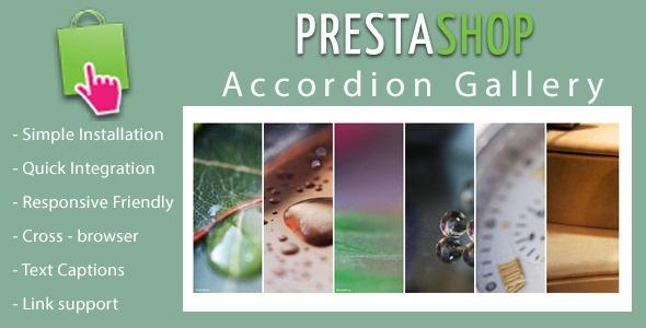 Webtet Prestashop Extension: Responsive Accordion Slideshow for Prestashop