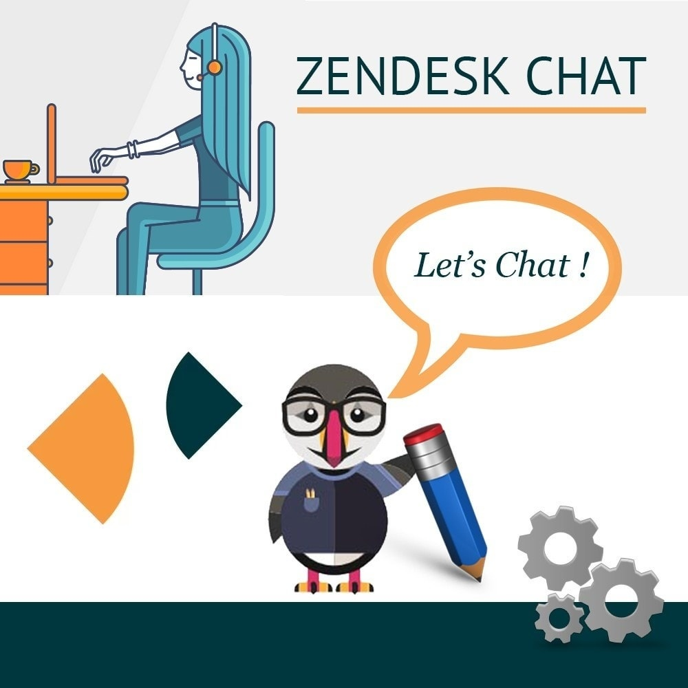 Webtet Prestashop Extension: Live Chat by Zendesk (formerly Zopim) for Prestashop 1.7 / 1.6 / 1.5