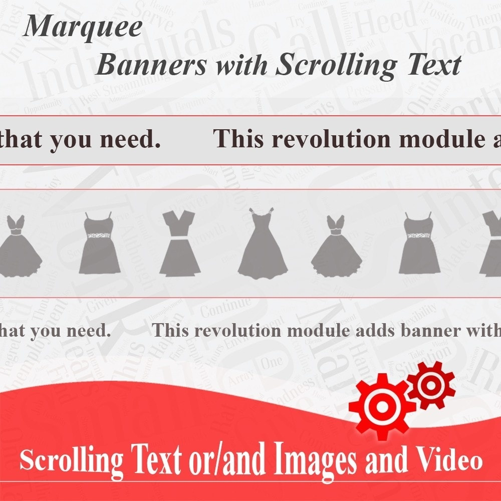 Webtet Prestashop Extension: Marquee, Banners with Scrolling Text or Images and Video for Prestashop