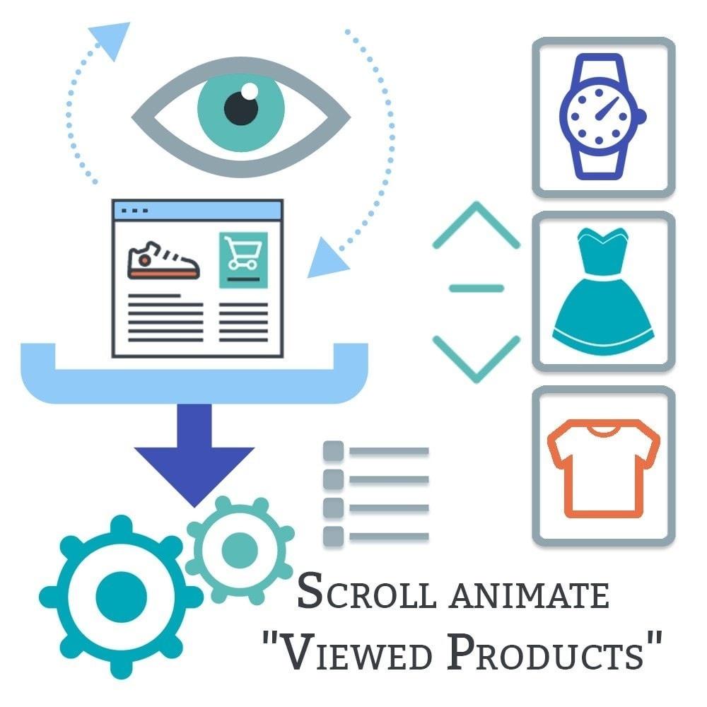 Webtet Prestashop Extension: Scroll animate