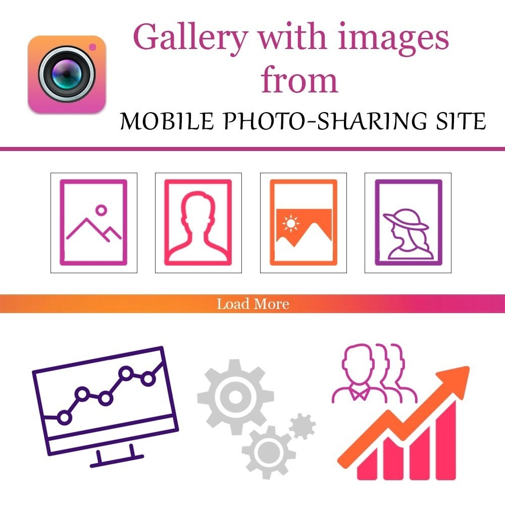 Webtet Prestashop Extension: Responsive Gallery Images Instagram Feed Module for Prestashop
