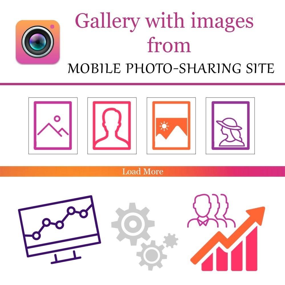 Webtet Prestashop Extension: Responsive Gallery Images Instagram Feed for Prestashop 1.7 / 1.6 / 1.5