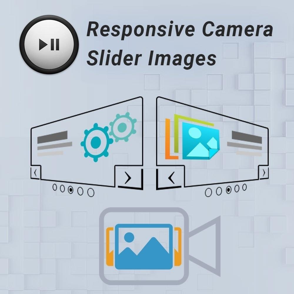 Webtet Prestashop Extension: Advanced Camera Slider Images