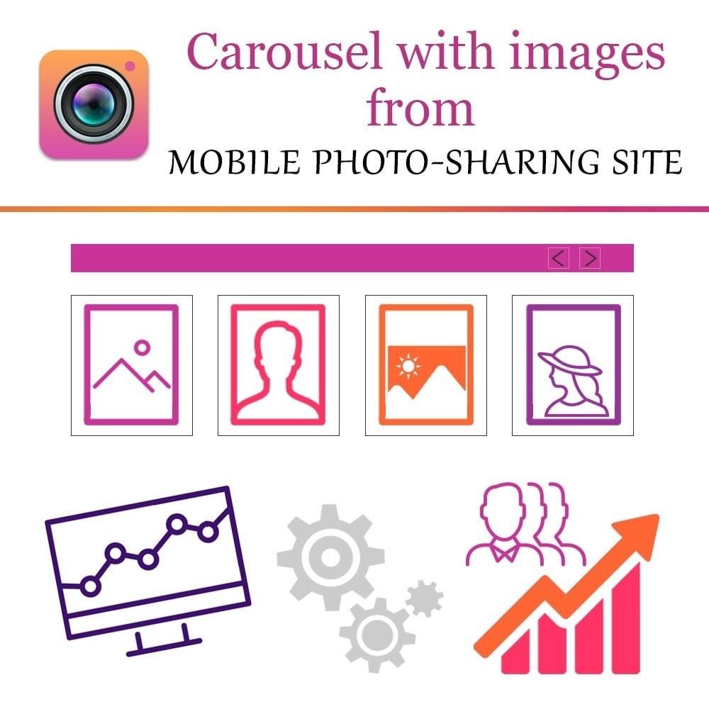 Webtet Prestashop Extension: Responsive Instagram Carousel for Prestashop 1.7.x / 1.6.x / 1.5.x