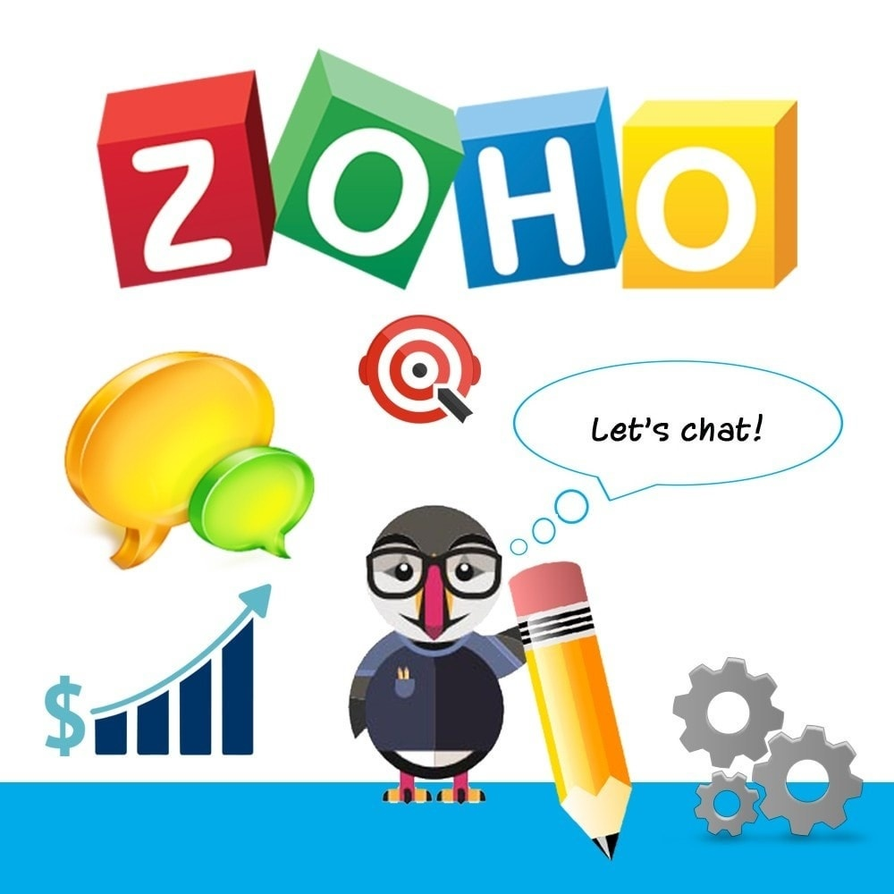 Webtet Prestashop Extension: Perfect Live Chat Zoho Support Online Module Prestashop 1.7 1.6 1.5