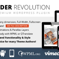 WordPress: Slider Revolution Responsive WordPress Plugin