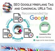 Prestashop Modules: SEO Google Hreflang Tag and Canonical URLs Tag