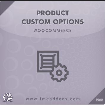 Wordpress Plugin: Woocommerce Add product Options Plugin by FMEaddons