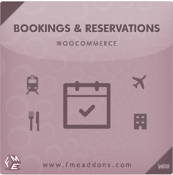 Wordpress Plugin: WooCommerce Booking Extension by FMEAddons