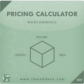 Wordpress Plugin: Price Calculator WooCommerce by FMEAddons
