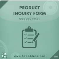 Wordpress Free plugin - Woocommerce Product Enquiry Form Extension