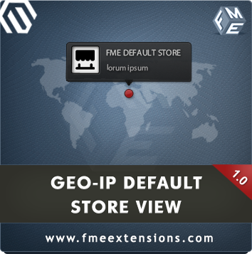 paulstanely Magento Extension: Magento GeoIP Store Redirect Extension by FME
