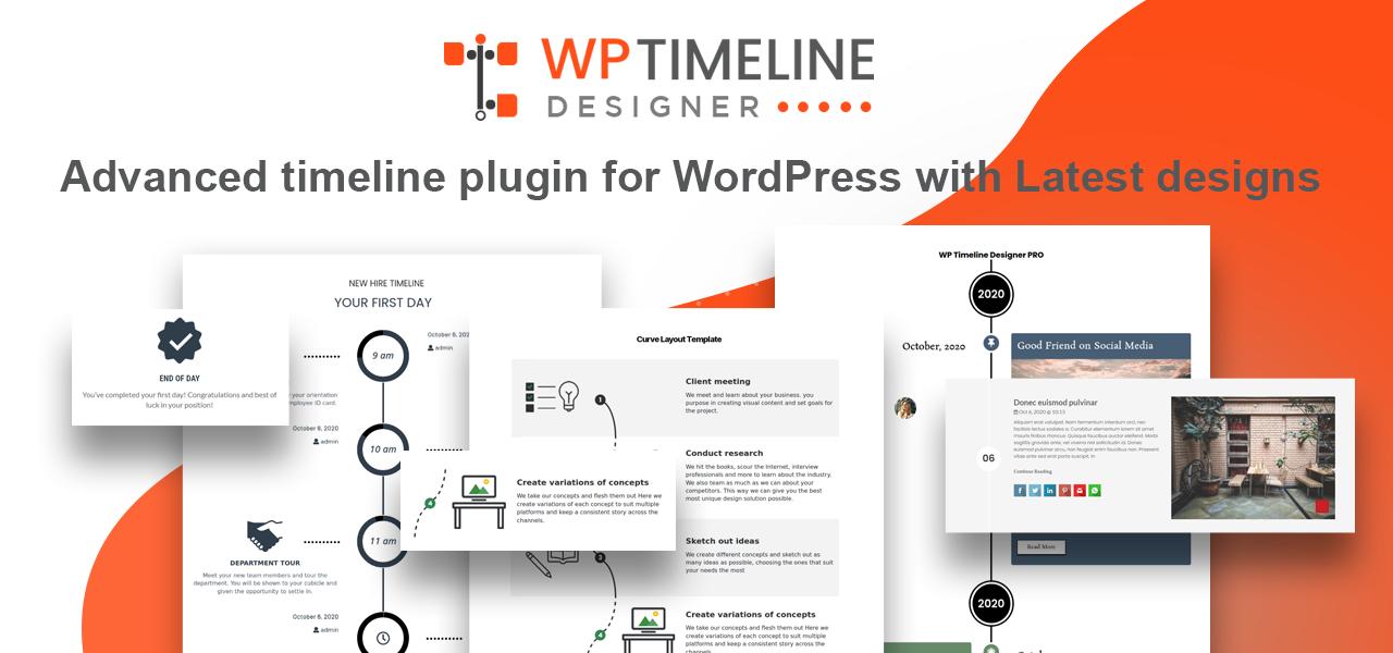 Wordpress Plugin: Timeline Designer WordPress Plugin