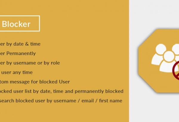 Solwin Infotech Wordpress Extension: User Blocker WordPress Plugin