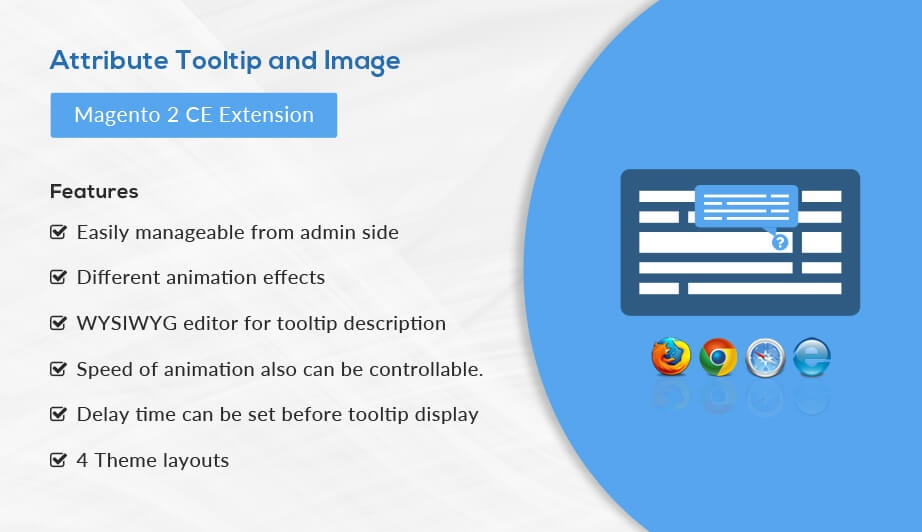 Solwin Infotech Magento Extension: Attribute Tooltip and Image – Magento 2 Extension