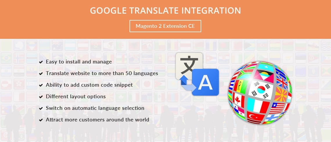 Magento Extension: Google Translate Integration - Magento 2 Extension