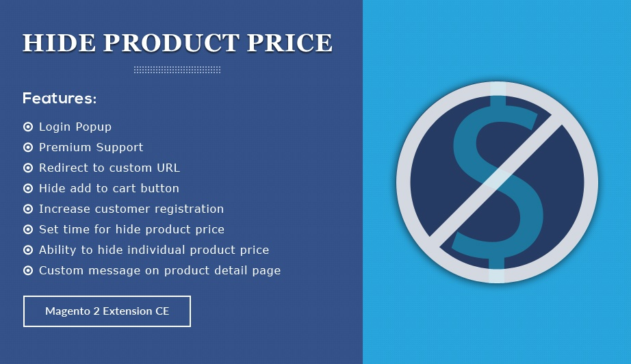 Solwin Infotech Magento Extension: Hide Product Price – Magento 2  Extension