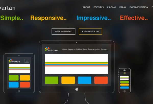 Wordpress Plugin: Avartan - Responsive WordPress Slider Plugin