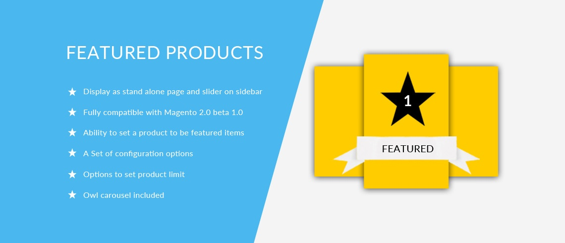 Solwin Infotech Magento Extension: Featured Products – Magento 2 Extension