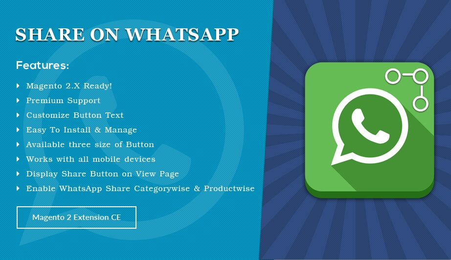 Solwin Infotech Magento Extension: Share on WhatsApp – Magento 2 Extension