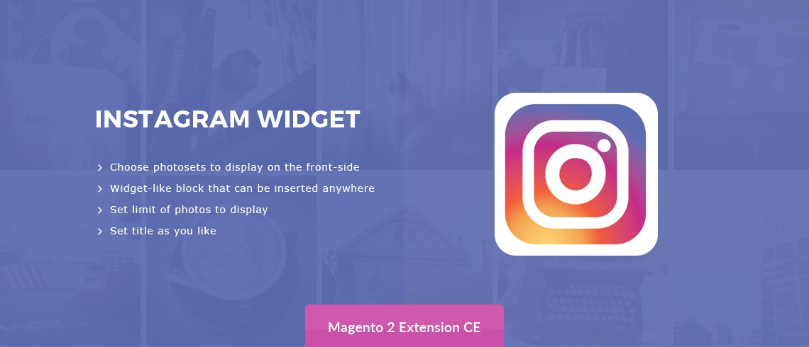 Solwin Infotech Magento Extension: Instagram Widget – Magento 2 Extension