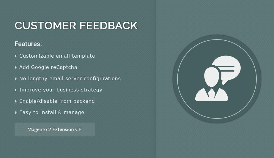 Solwin Infotech Magento Extension: Customer Feedback – Magento 2  Extension