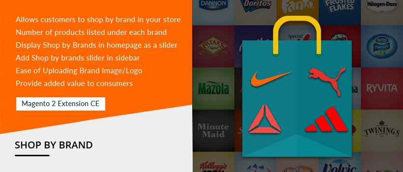 Solwin Infotech Magento Extension: Shop By Brand – Magento 2 Extension