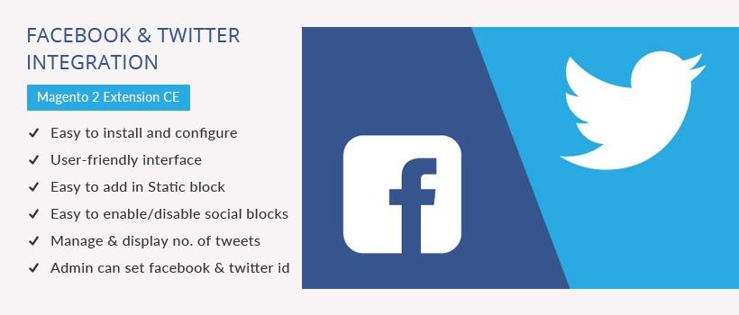 Solwin Infotech Magento Extension: Facebook & Twitter Integration Magento 2 Extension