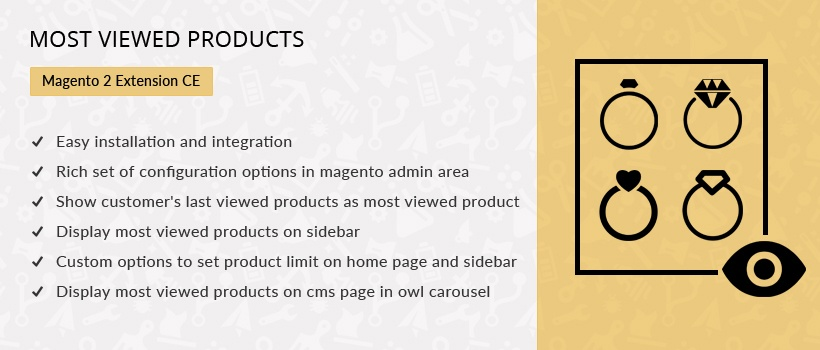 Solwin Infotech Magento Extension: Most Viewed Products – Magento 2 Extension