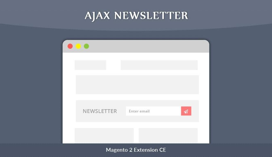 Solwin Infotech Magento Extension: Ajax Newsletter – Magento 2 Extension