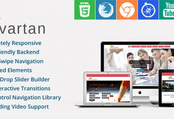 Wordpress Plugin: Avartan Slider
