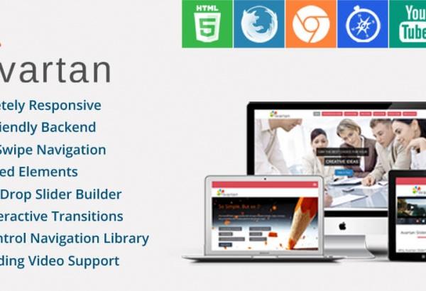 Solwin Infotech Wordpress Extension: Avartan Slider
