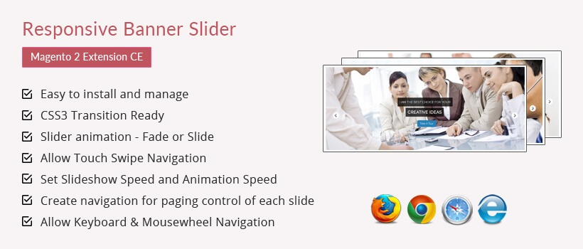 Solwin Infotech Magento Extension: Responsive Banner Slider – Magento 2 Extension