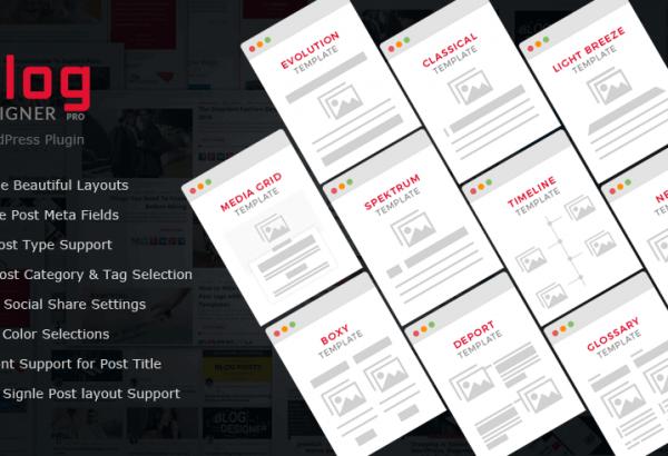 Solwin Infotech Wordpress Extension: Blog Designer - WordPress Plugin for Blog Page Design
